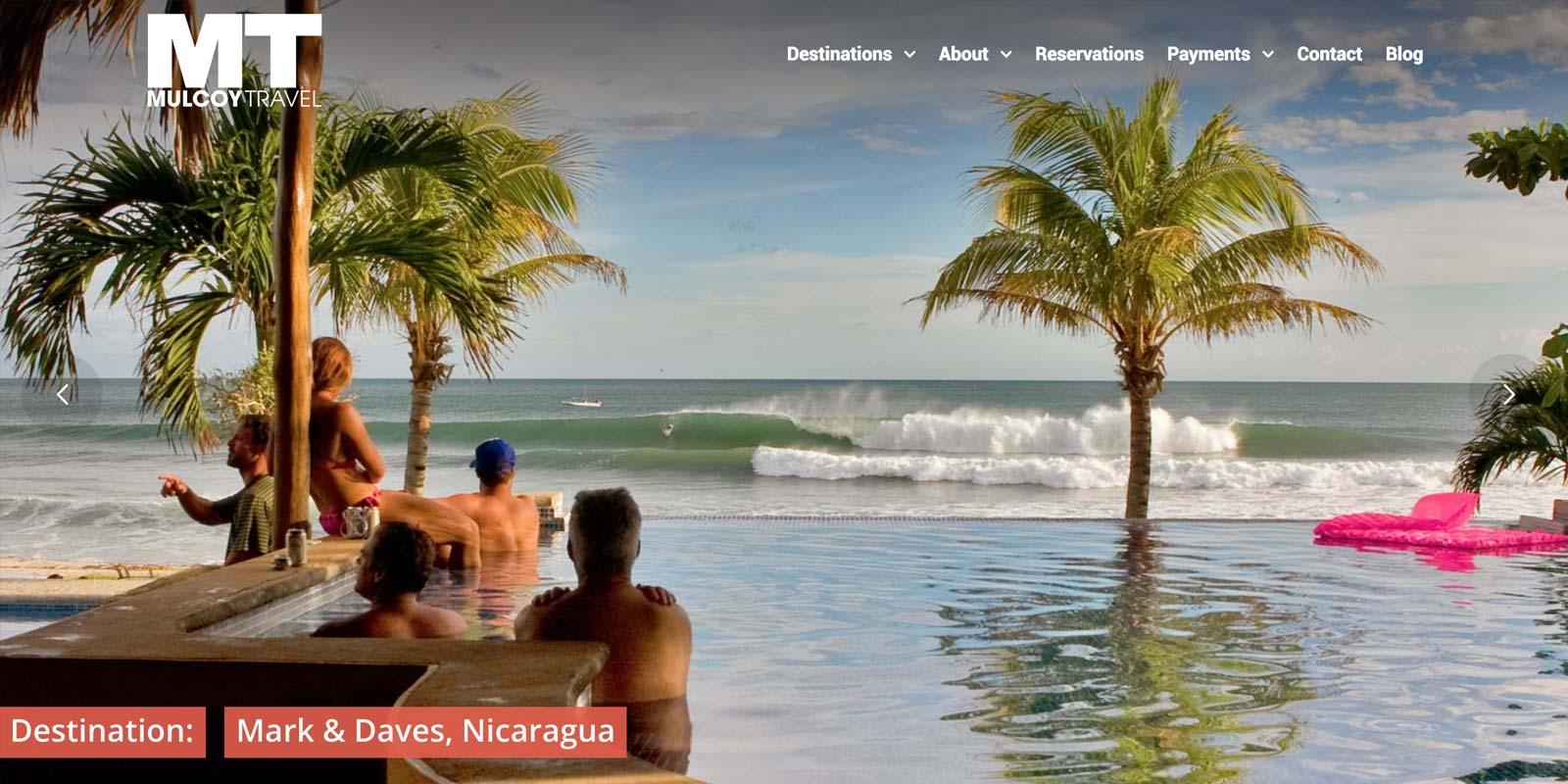 Mulcoy Travel Website