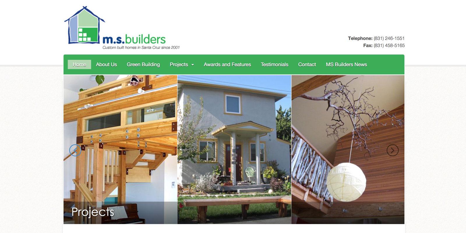 MS Builders Santa Cruz California