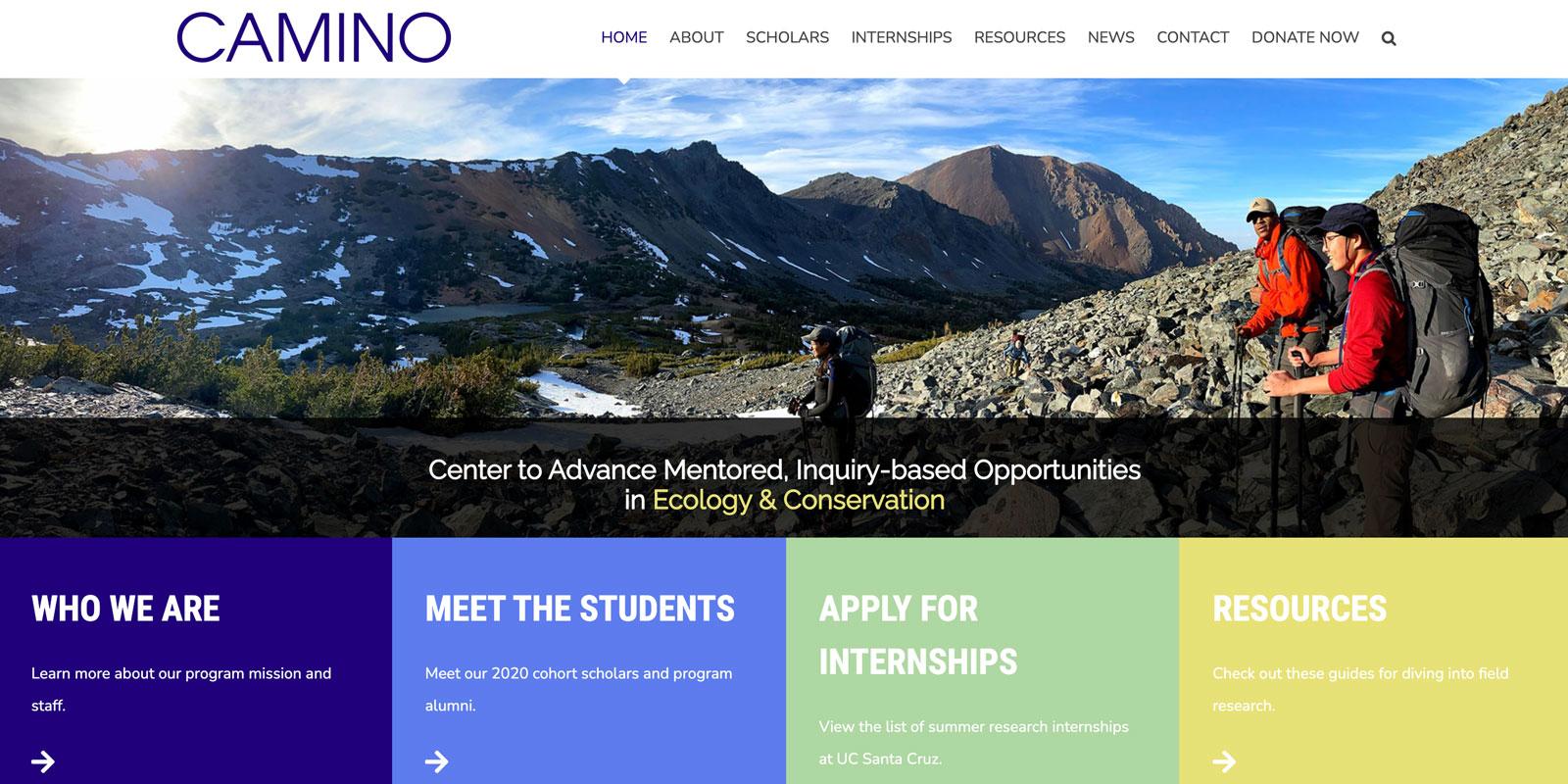 CAMINO website for UCSC